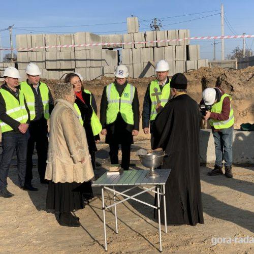 У Горі відбулось освячення та закладання капсули під будівництво нової школи