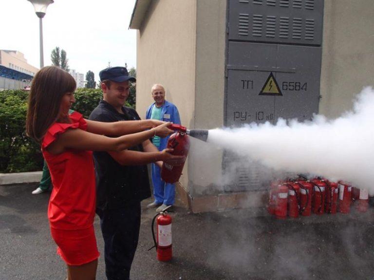 Заняття з пожежної безпеки
