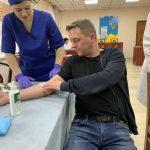 Здати донорську кров прийшло 26 осіб