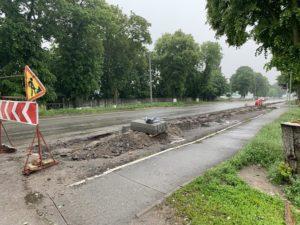 Небезпечний виїзд з вул. Польова врахований при проектуванні капітального ремонту центральної дороги