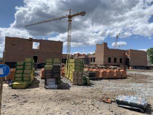 На будівельному майданчику нової школи відбулась робоча зустріч