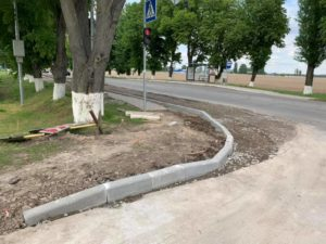 Проводяться роботи по капітальному ремонту вул. Центральна