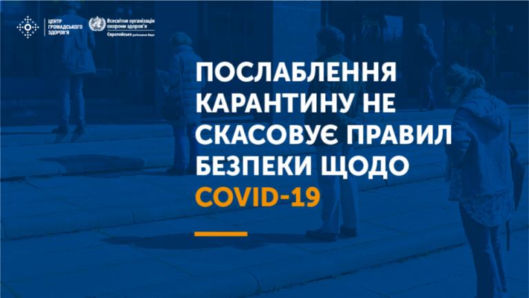 Рішення комісії ТЕБ і НС про послаблення карантину на території Бориспільщини (Протокол №14 від 25.05.2020р.)