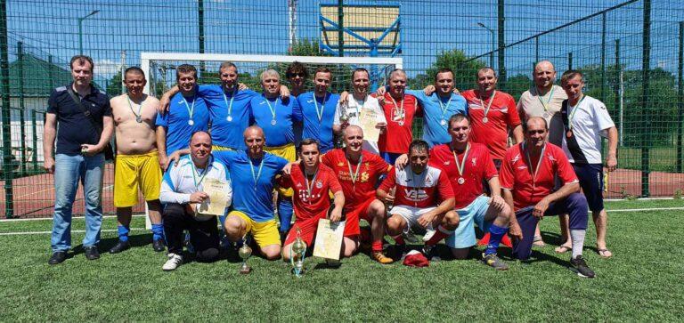 Відбувся другий етап чемпіонату з міні-футболу серед команд ветеранів Бориспільщини