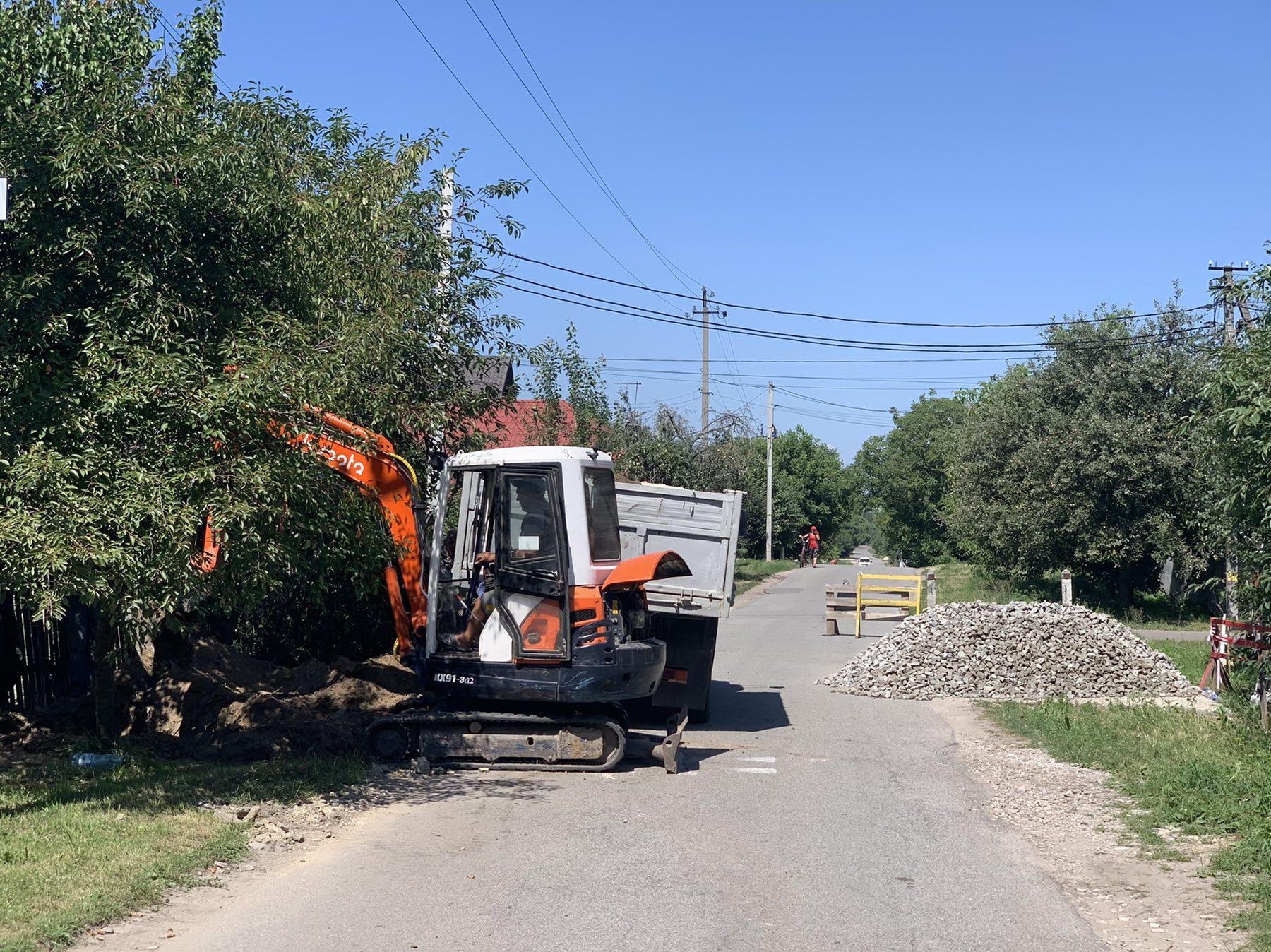 Розпочались роботи з будівництва ливнівок по вул. Гушевського