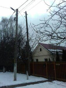 Відділ благоустрою інспектував опори електропередач та зв'язку