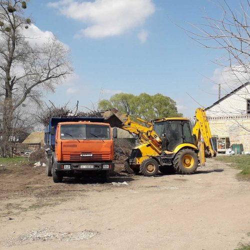 Ліквідовано сміттєзвалише у селі Ревне