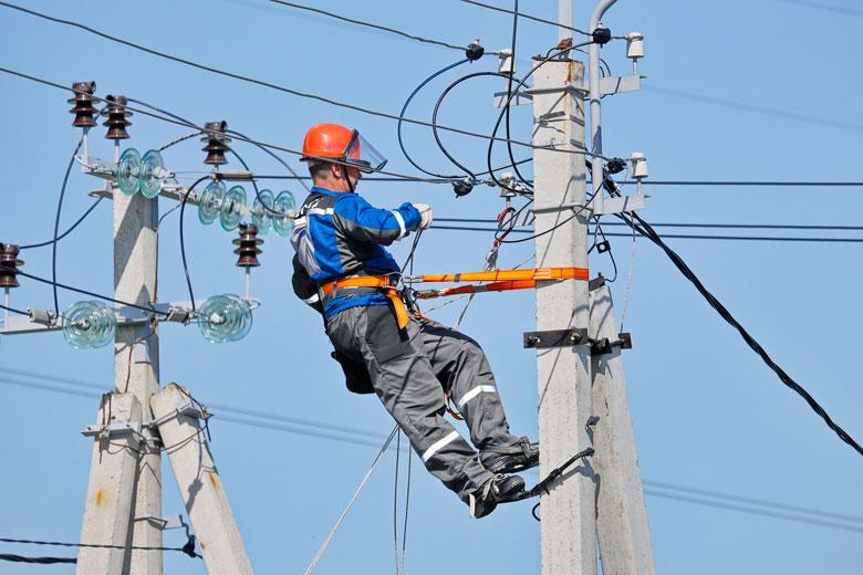 Повідомлення про відсутність електроенергії!