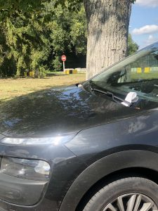Штраф за порушення зупинки, стоянки та паркування
